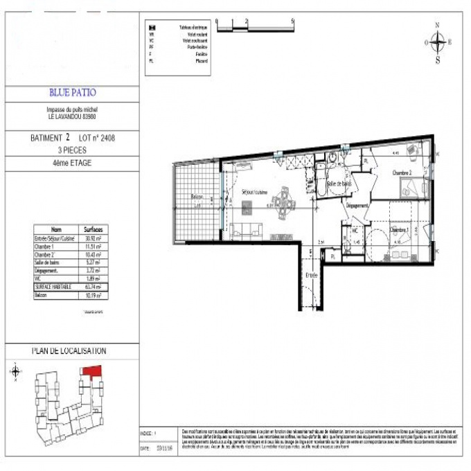 Programme neuf Appartement Le Lavandou (83980)